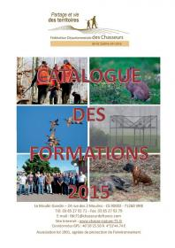 Catalogue des formations 2015